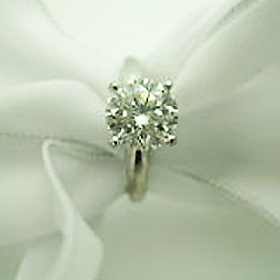Round Brillant Diamond Ring